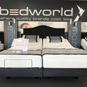Super King Split Adjustable Bed with Memory Foam MV200 Mattresses