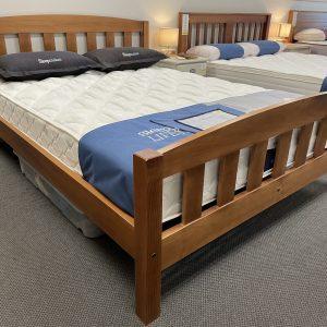 Tasman Queen Slat Bed Frame - Ex Floor Model