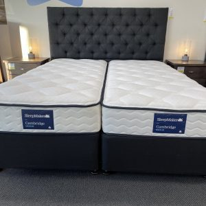 Sleepmaker King Split & Zipped Mattress with Base